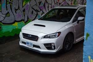2016 Subaru Sti Review 2016 Subaru Wrx Sti Sport Package Canadian Auto
