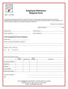 employment reference check form template doc 764615 reference request bizdoska