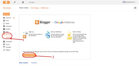 blogger sign in blogger sign up for ads 1 online dailys