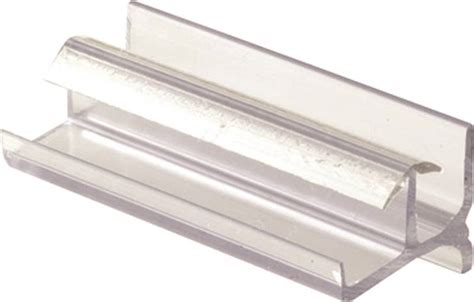 Shower Door Bottom Prime Line M 6144 Shower Door Bottom Guide For Use With Frameless Glass Shower Doors Vinyl