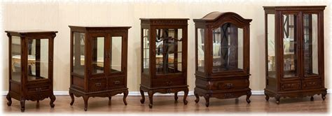 small display cabinet mahogany indonesia furniture antique reproduction furniture french furniture