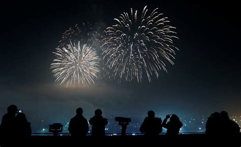 korean celebrate new year 2016 jittery world bids adieu to a year marred by terror the