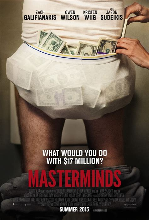 The Masterminds masterminds dvd release date