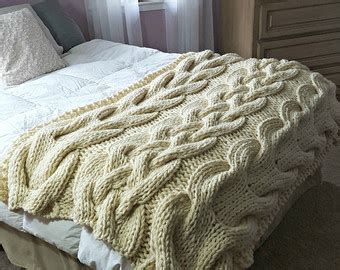 cable knit bedding oversized cable knit throw crochet and knit