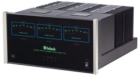 mcintosh introduces mc multi channel amplifier ultra