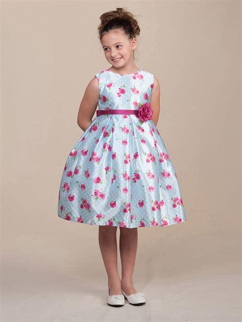 light blue polka dot dress light blue polka dot roses dress w waistband flower