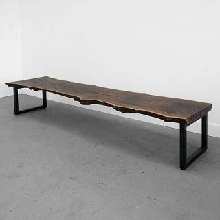 raw bench raw wood bench le meuble pinterest