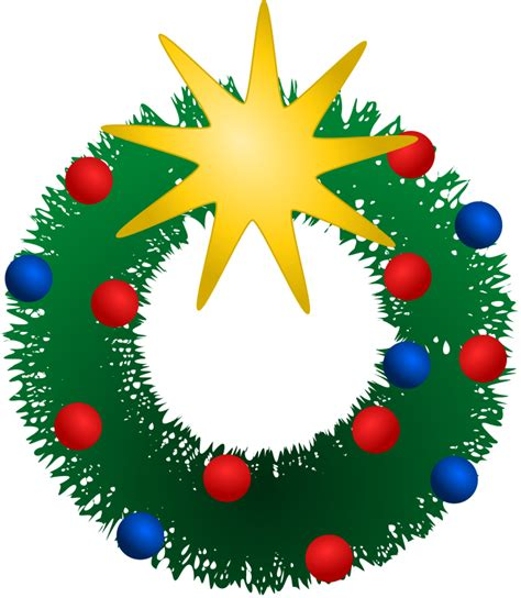 clipart domain free wreath clip pictures clipartix