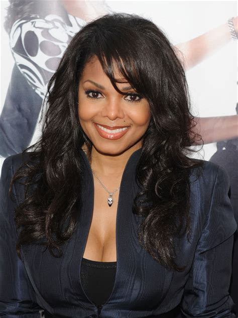 janet jackson hairstyles photo gallery janet jackson long curls with bangs long curls with