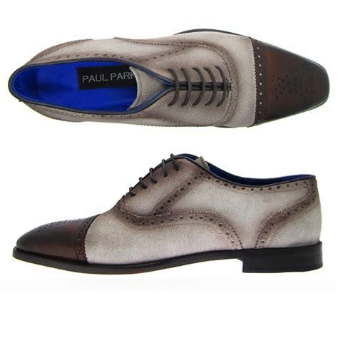 paul parkman shoes paul parkman handmade cap toe shoes beige suede brown