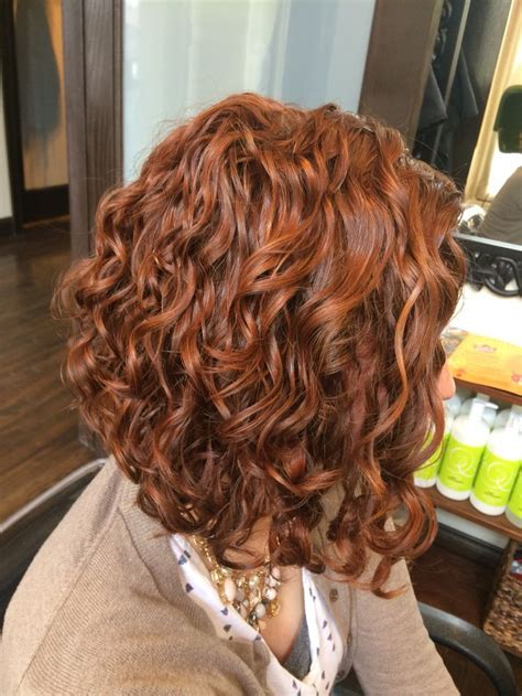 image result for inverted bob long curly hair pictures