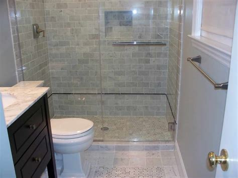 small tile shower the best small bathroom design ideas