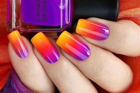 tutorial nail art gel sfumato effetto sfumatura sulle unghie come crearlo makeup delight