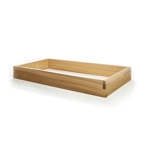 Wood Planter Boxes Lowes by Shop All Things Cedar 24 In W X 48 In L X 5 5 In H