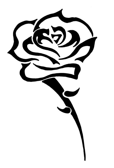 tribal rose tattoo designs tattoos photos by shannon connor