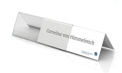 Word Vorlage Tischnamensschilder Tischaufsteller Td501 B H Mayer S Identitysign Shop