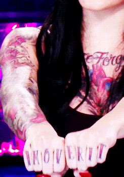 bad girls club tattoos gif find amp share on giphy