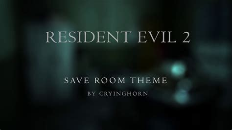 save room for my resident evil 2 save room cryinghorn cover