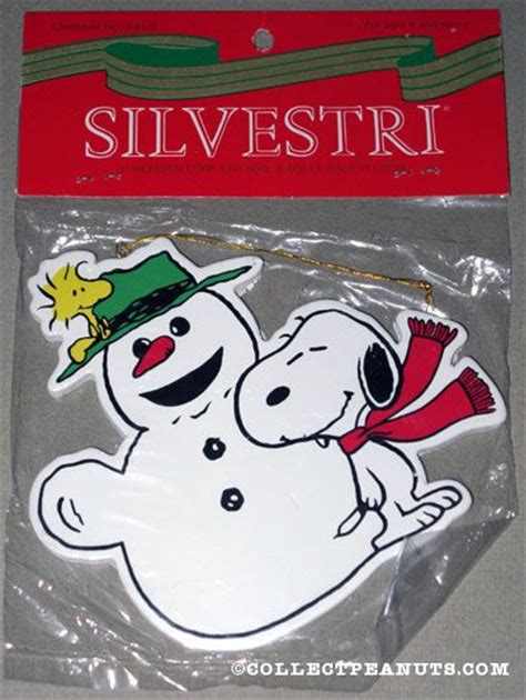 peanuts silvestri ornaments collectpeanuts com