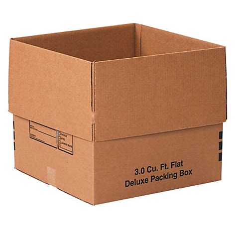 office depot brand deluxe moving boxes 18 x 18 x 16 kraft