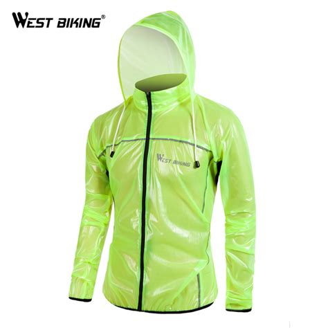 bike raincoat west biking reflective cycling raincoat windproof