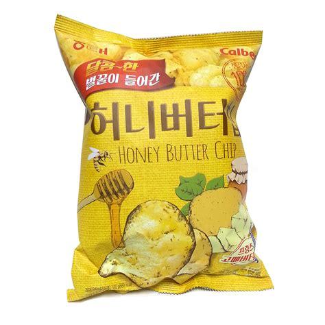Honey Butter Chips new haitai honey butter chip 1box 120g x 10pcs korea