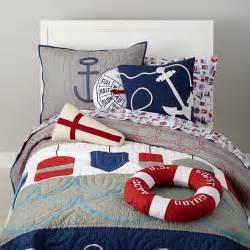 nautical bedding for boys bedding nautical buoy bedding set the land of nod