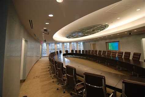 Exclusive executive conference room design