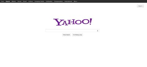 Yahoo Search A Sneak Peek At The New Yahoo Home Page Redesign Techcrunch