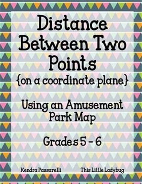 theme park questions 17 best images about the coordinate plane on pinterest