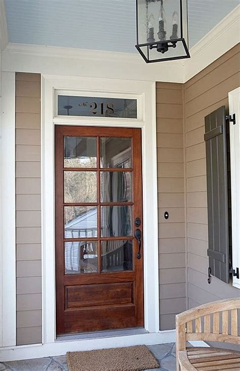 17 Best Images About Exterior Doors On Pinterest Cape Front Door With Window Above