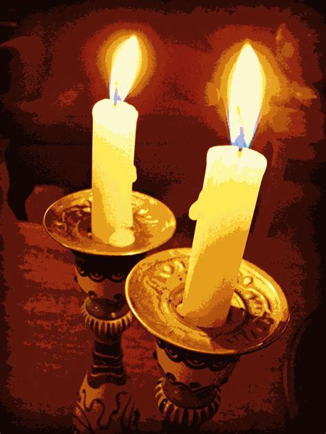 shabbat candles ruminations from the temple progressive revelation