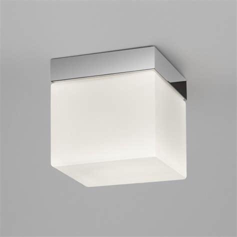 mantra square ip44 bathroom ceiling light astro 7095 sabina ip44 1 light ceiling light polished chrome