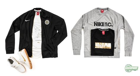 Sweater Nike Fc Blue Line nike f c launch clothing line for neymar wilshere and you