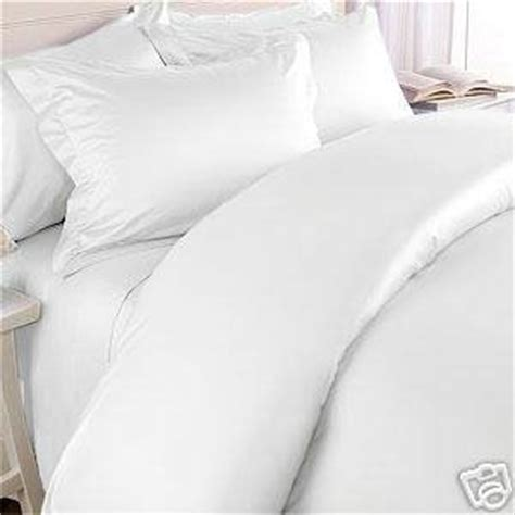 Duvet Covers Queen White Amazon Com 300tc Solid White Queen Size Duvet Cover Set