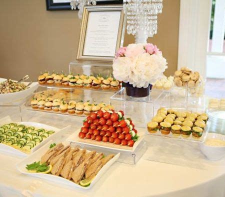 bridal shower finger food ideas the world s catalog of ideas