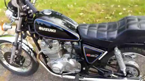 Suzuki Gs450l by 1980 Suzuki Gs450l Start Up