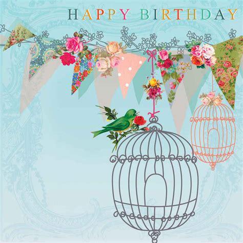 happy birthday bird images 21660 quot happy birthday quot bird cages flowers bunting