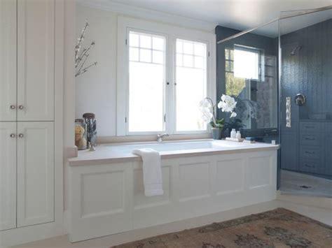 bathtub wood panel photo page hgtv