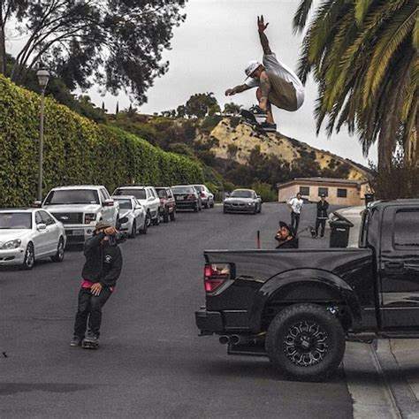 Sheckler House by Sheckler Gets Air On His Skateboard A Ford