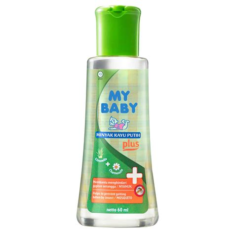 B26 My Baby Minyak Telon Plus 60ml my baby minyak kayu putih plus 60ml gogobli