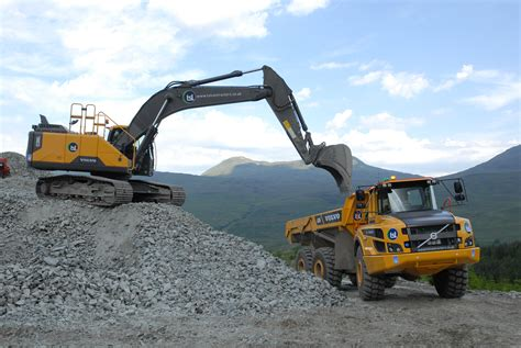 tsl brings  volvos  hydro projects project plant