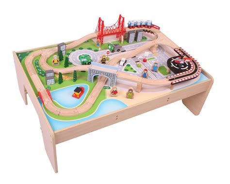 train set and table train sets table design decoration