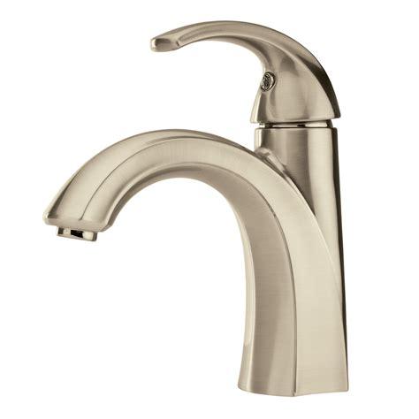 shop pfister selia brushed nickel  handle single hole  centerset watersense bathroom faucet