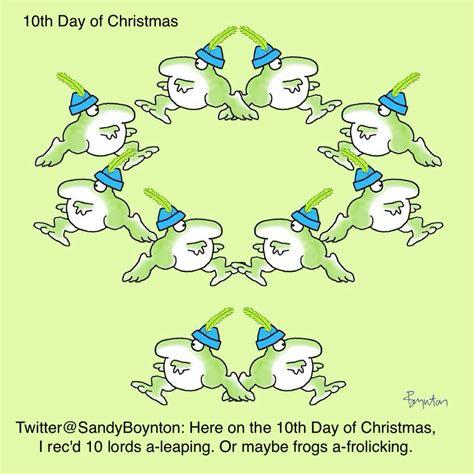 10th day of christmas sandra boynton boynton