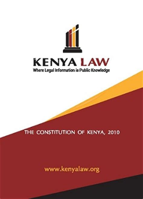 Kenyalaw Search Opinions On Constitution Of Kenya