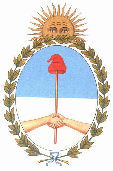 imagenes simbolos patrios argentinos partes y significado del escudo nacional argentino