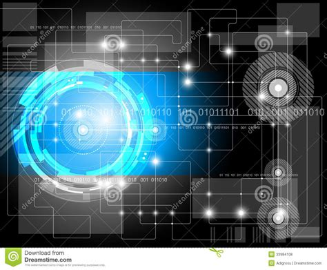 futuristic technology illustration stock images image futuristic technology background stock illustration