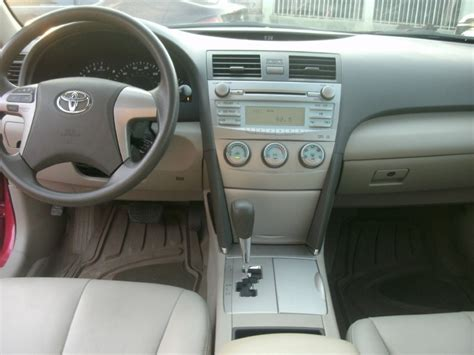 2009 Toyota Camry Interior Tokunbo 2009 Toyota Camry Leather Interior Low Mileage