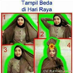 gambar tutorial hijab lucu hijab style tutorial lucu cara memakai jilbab anak alay
